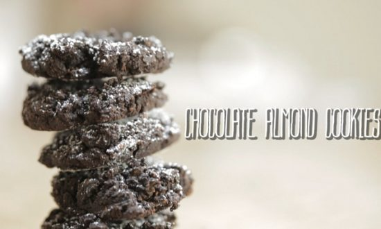 How to Make: Chocolate Almond Cookies (+Video)