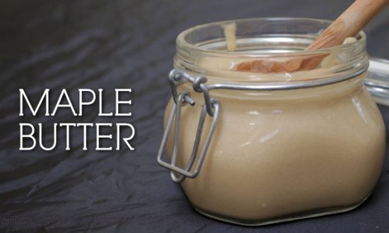 How to Make: Maple Butter