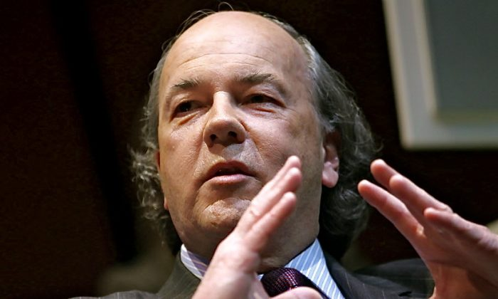 "James Rickards, lawyer, economist, investment banker, and author of the ""Death of Money""(Courtesy of James Rickards)"