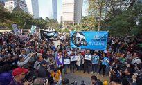 6,000 Rally for Hong Kong's Press Freedom