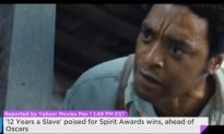 '12 Years A Slave' Poised For Spirit Awards Wins, Ahead Of Oscars