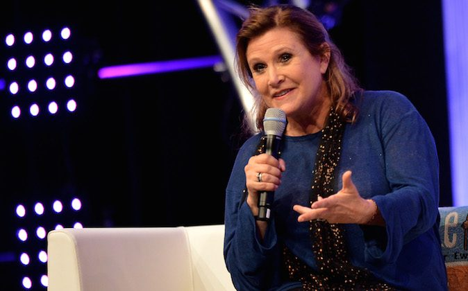 Carrie Fisher reportedly suffered a heart attack on a plane last week. Her cause of death wasn't released.    (Photo by Sascha Steinbach/Getty Images)