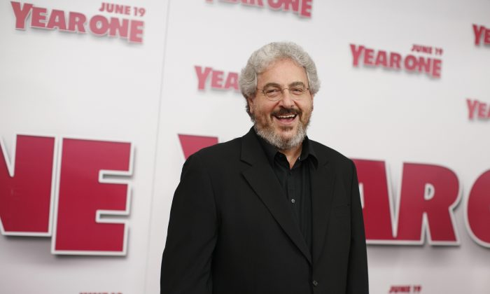 """Director Harold Ramis arrives for the world premiere of """"Year One"""" at Lincoln Square Monday, June 2009, in New York. Ramis suffered for several years from vasculitis, which caused inflammation and damage to his blood vessels. He died his home Monday, Feb. 24, in a Chicago suburb, surrounded by family and friends. He was 69. Ramis is best known for his roles in the comedies """"Ghostbusters"""" and """"Stripes."""" (Jason DeCrow/AP Photo)"""