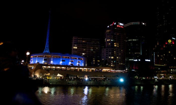 The Arts Centre, in Melbourne. (Win Naing/Epoch Times)