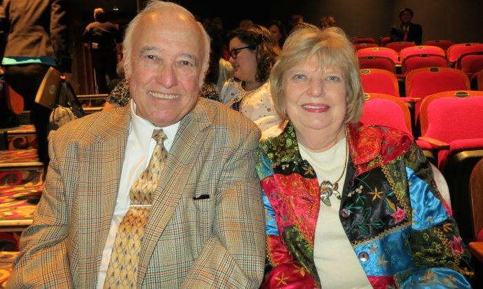 Archie Snedegar was impressed with Shen Yun Performing Arts at the Clay Center for the Arts & Sciences of West Virginia. (Epoch Times)
