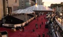 The Red Carpet Is Rolled Out and Oscar Preparations Are Almost Completed