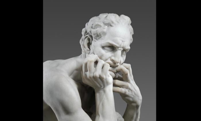 Detail of Ugolino. (The Metropolitan Museum of Art)