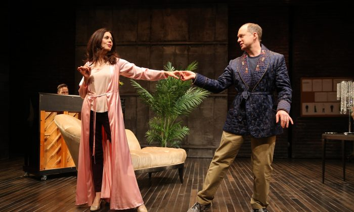 Jessica Hecht and Daniel Jenkins play husband and wife in Sarah Ruhl's dramedy. (Joan Marcus)