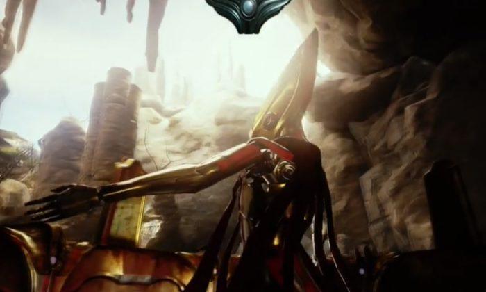 Unreal Engine 4 demo. (Screen Shot)