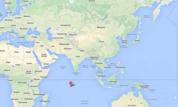 Diego Garcia (Google Maps)