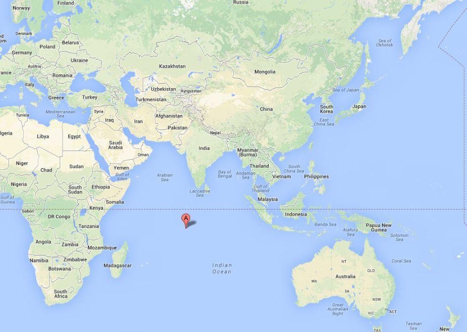 Diego Garcia Island Atoll Us Base Is Rumored Landing Spot