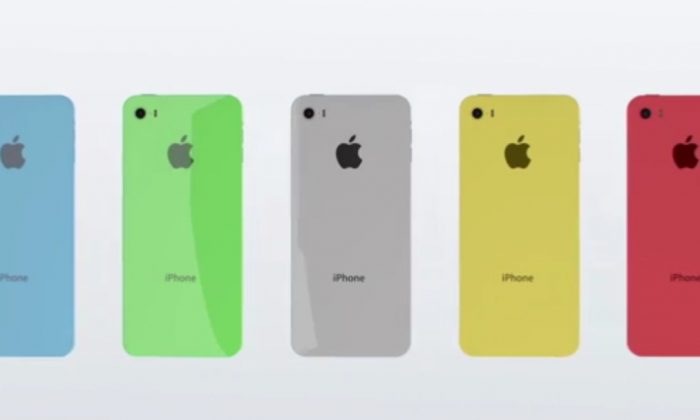 The iPhone 6C/iPhone C's concept design.