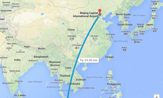 Malaysia Airlines Route Map: Updated Scenario Has Plane Turning Back on