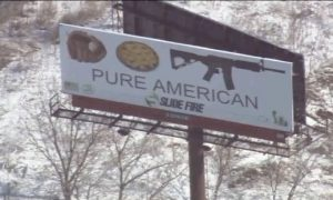 Guns as American as Apple Pie? Controversy Surrounds 'Pure American' Billboard