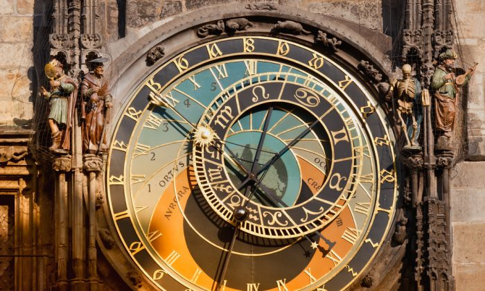 Astronomical clock of Prague's Orloj. (*Shutterstock)