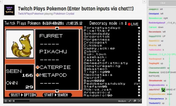 Twitch Plays Pokemon Keeps Going Strong: Reddit Seeks to 'Be
