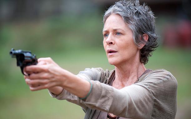Carol in season 4 of The Walking Dead. (Gene Page/AMC)