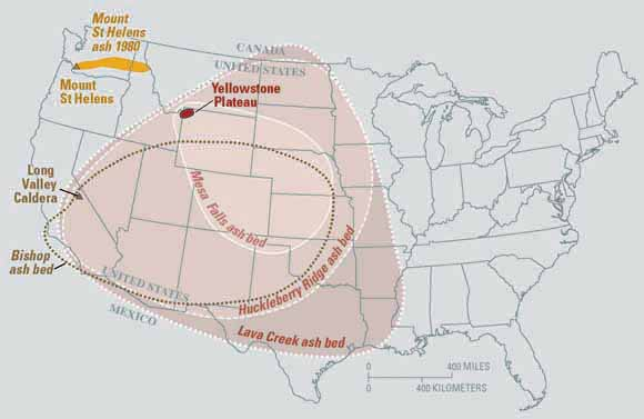 Will The Yellowstone Volcano Erupt In Our Lifetime Map The - Yellowstone map us