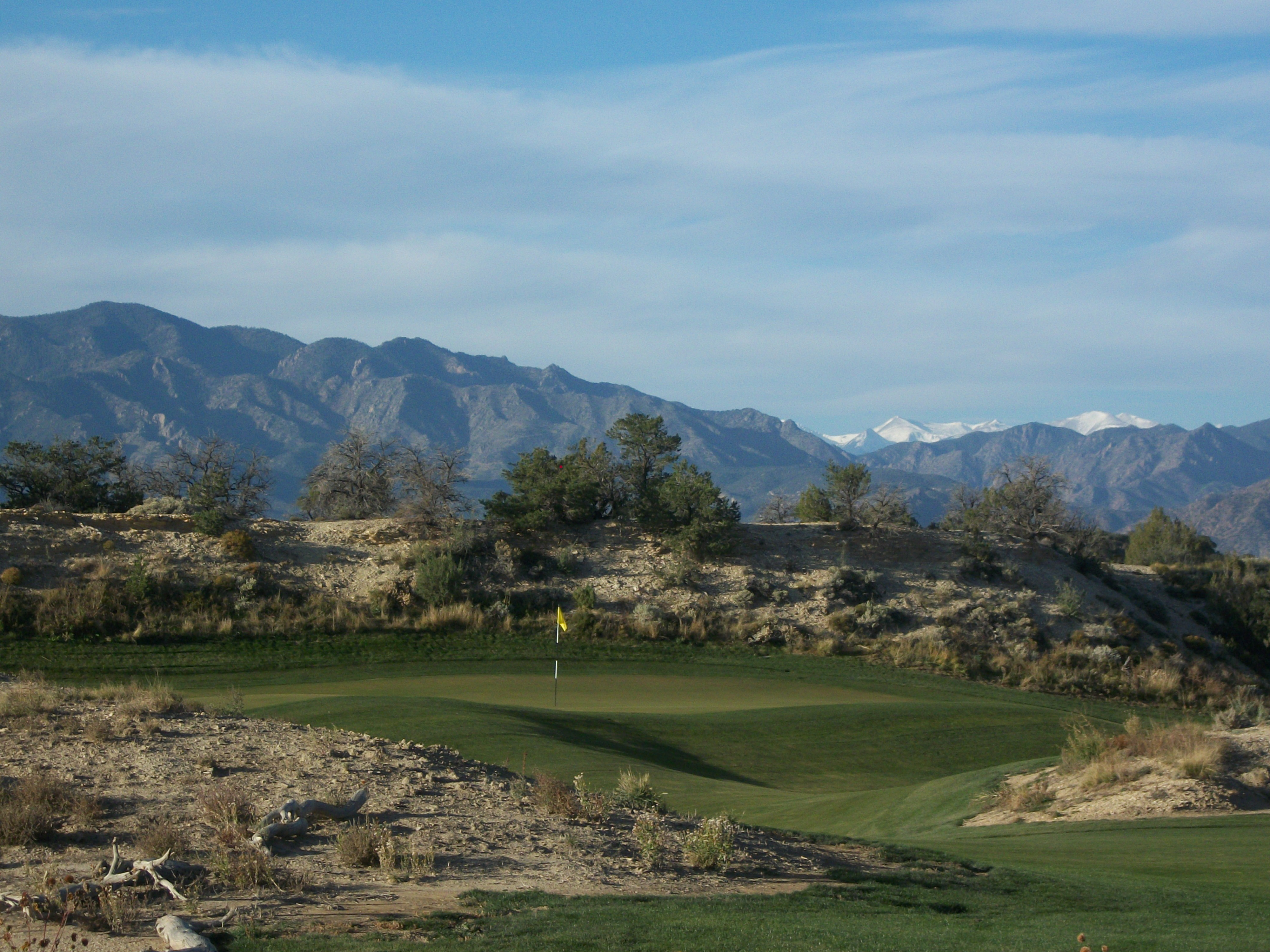 The 18th hole at Four Mile Ranch