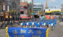 Falun Gong Parade Commemorates 15 Years of Courage