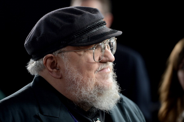 George R.R. Martin arrives at the premiere of HBO's 'Game Of Thrones' Season 3 at TCL Chinese Theatre on March 18, 2013 in Hollywood, California. (Photo by Kevin Winter/Getty Images)