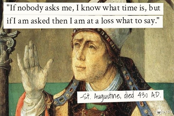 St. Augustine on Time