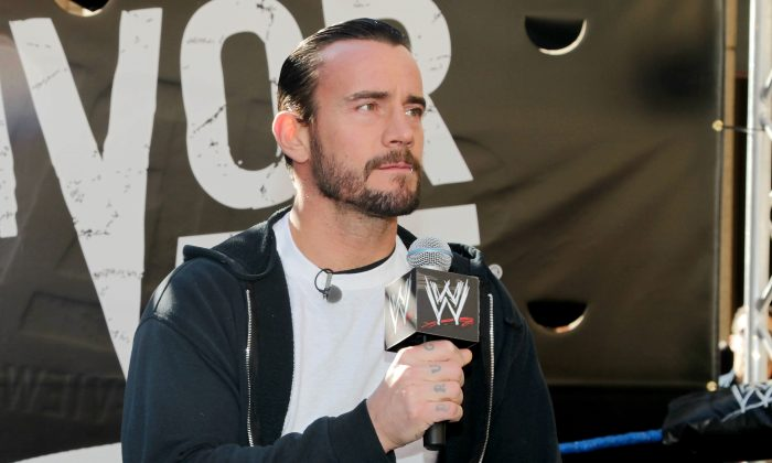 CM Punk, whose real name is Phil Brooks, in a file photo. (AP Photo/Starpix, Dave Allocca)