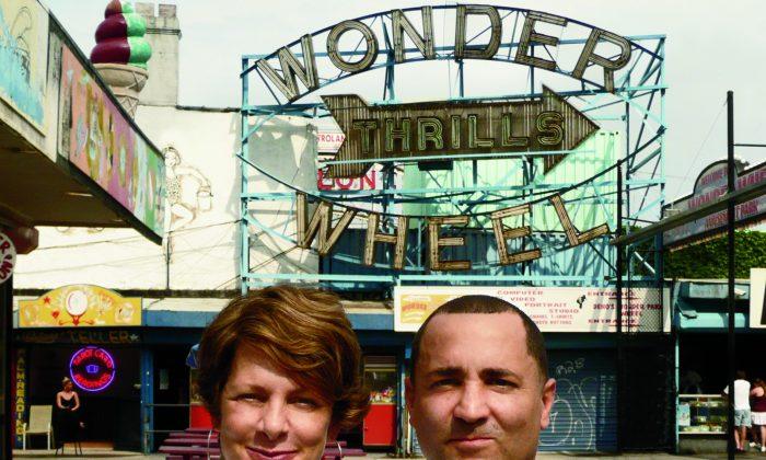 Zipper owner Eddie Miranda and director Amy Nicholson. (Jordan Levie)
