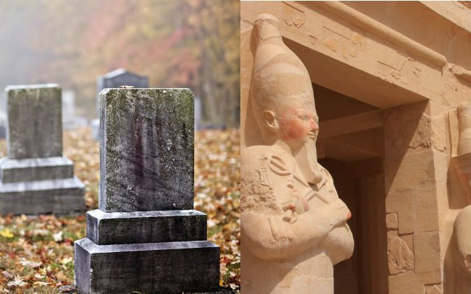 Many cultures throughout history have oriented their temples, graves, and prayer rituals toward the East. (Shutterstock*)