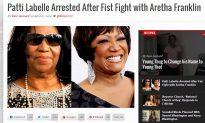 Aretha Franklin – Patti LaBelle Fist Fight Article isn't Real