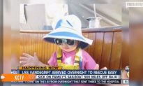 U.S. Navy Ship Reaches Sick Toddler Aboard Stranded Sailboat