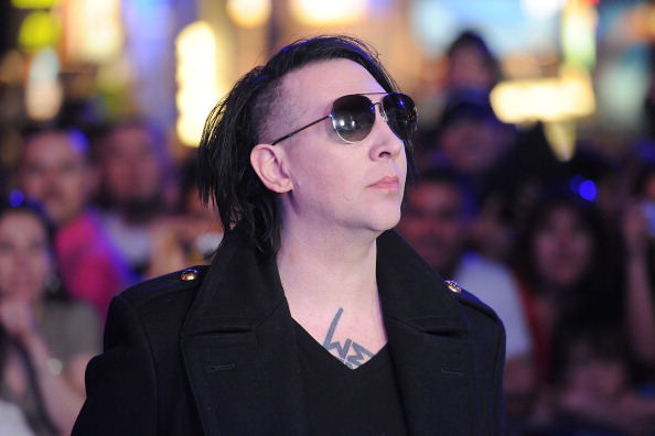 Marilyn Manson in this file photo. (Jason Merritt/Getty Images)