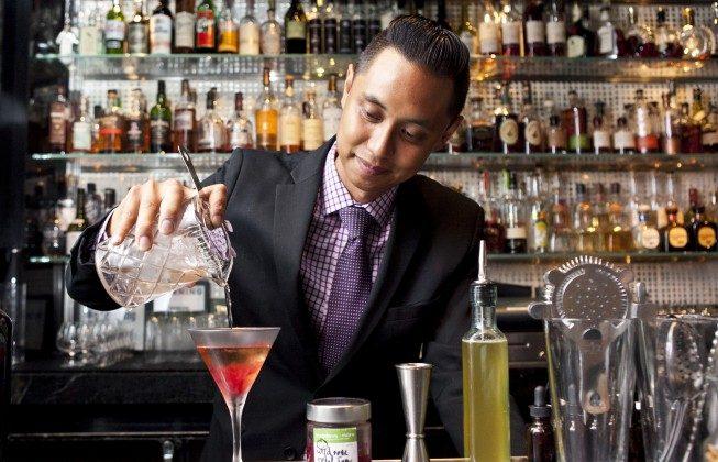 At Bar Pleiades, Ingredients Foraged, Shaken, Stirred