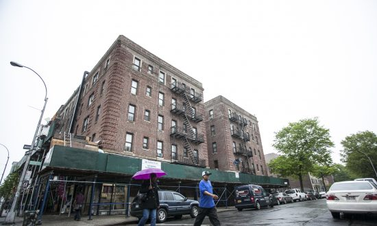 The building at 1059 Union St. in Crown Heights, Brooklyn, New York, May 15, 2014. (Samira Bouaou/Epoch Times)