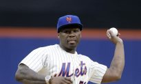 50 Cent's Street Cred Now All Gone After Citi Field First Pitch
