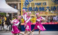 Children Share Beauty of Falun Dafa at Union Square