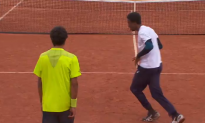 Tennis Players Have Epic Dance-Off