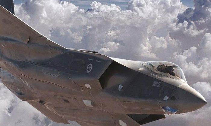 The F-35 Joint Strike Fighter. (Lockheed Martin)