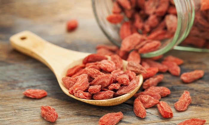 The goji berry, also called the wolfberry, is one of the most nutritionally rich foods on the planet. (Marek Uliasz/thinkstockphotos.com)