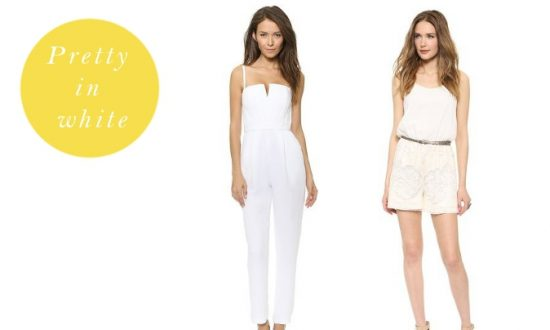 2f402d7e795c Have a look at our selection of white jumpsuits and rompers that keep you  on trend