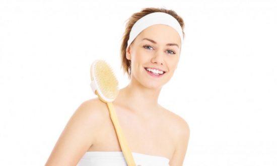 Increased Energy by Skin Brushing