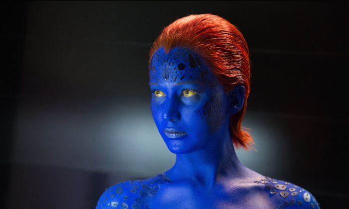 "Jennifer Lawrence as Mystique in ""X-Men: Days of Future Past."" (Alan Markfield/Twentieth Century Fox)"