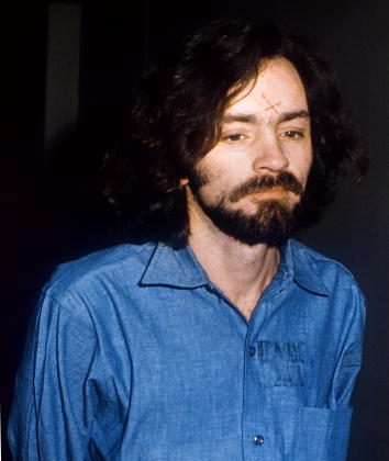 Charles Manson was not granted parole, and an article saying he was freed from prison is fake. Portrait of Charles Manson, the murderer with three hippy girl-friends of Sharon Tate and a series of brutals murders taken in Los Angeles court, 14 August 1970. AFP PHOTO UPI (Photo credit should read -/AFP/Getty Images)