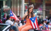 Puerto Rican Pride Blossoms on Fifth Avenue
