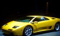 $150k Lamborghini Diablo Goes Up In Flames In New Jersey