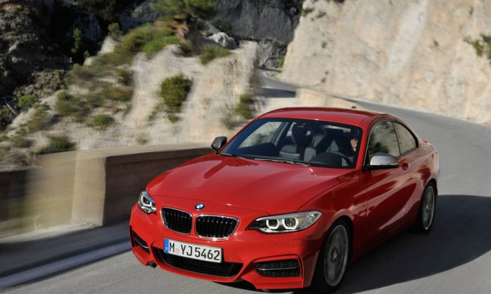 Not for the faint of heart: the BMW M235i. (BMW)