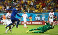 Costa Rica vs Greece Live Scores, Video Highlights: Costa Rica in Quarter Finals, Greece Eliminated From World Cup 2014
