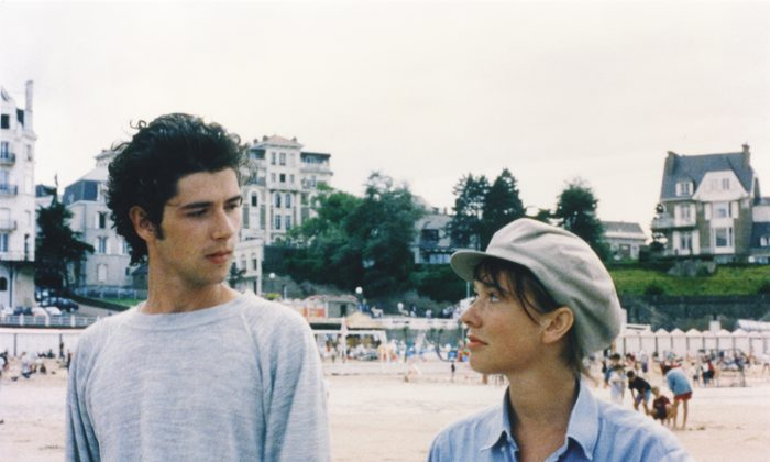 Melvil Poupaud as the awkward Gaspard, and Amanda Langlet as his platonic friend Margot. (Big World Pictures)