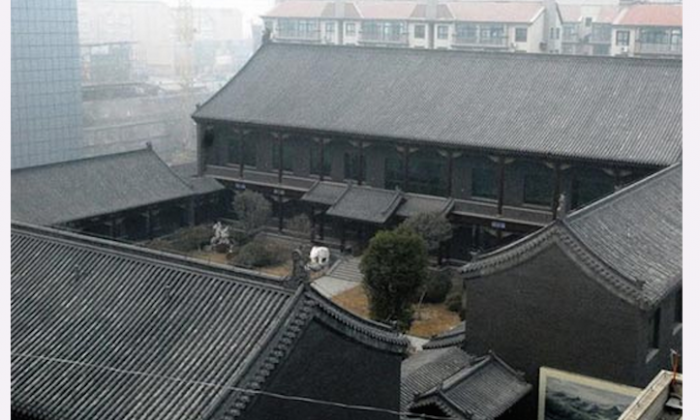 A house belonging to Gu Junshan, a former top official in China's military who was taken down in a corruption probe. Chinese officials are hurriedly attempting to offload real estate as requires for disclosing assets are trialed in parts of the country. (Screenshot/chinaluxus.com)