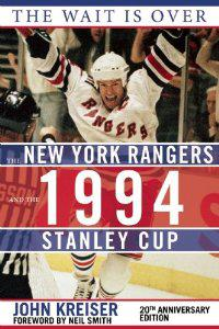 It's been 20 years since the Rangers won the Stanley Cup and author John Kreiser captures it in The Wait Is Over. (image provided by author)